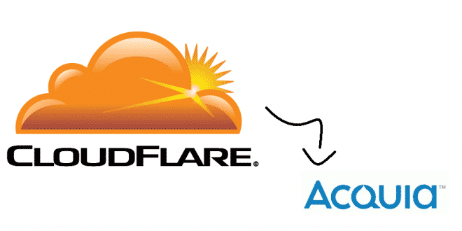cloudflare acquia