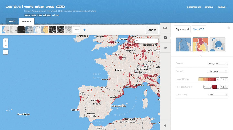 cartodb logiciel de cartographie