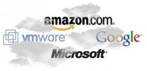 cloud amazon microsoft