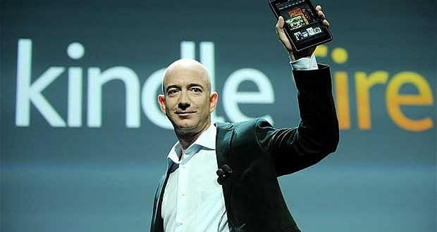 Jeff Bezos, PDG d'Amazon