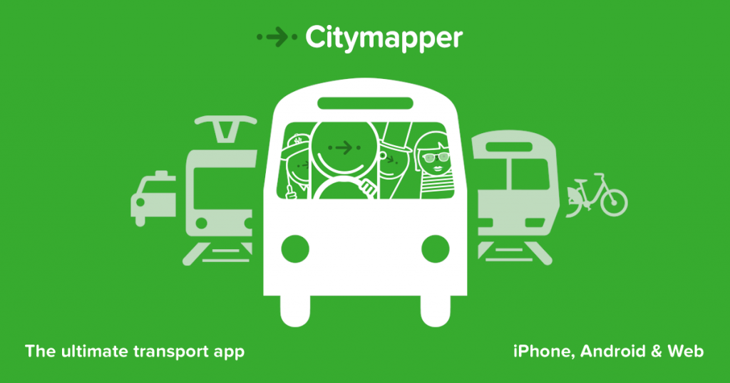 citymapper open data