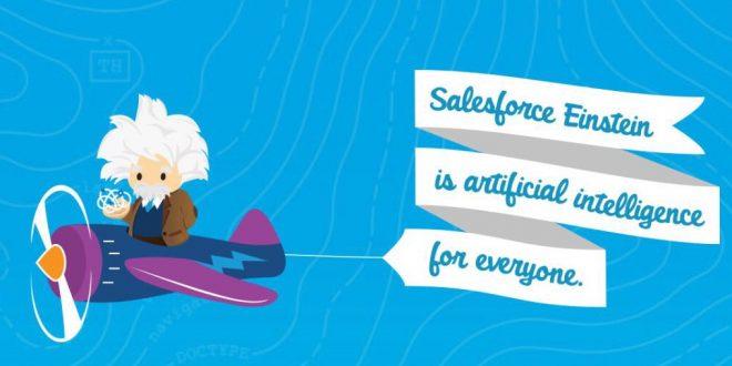 Salesforce présente l'intelligence artificielle Einstein
