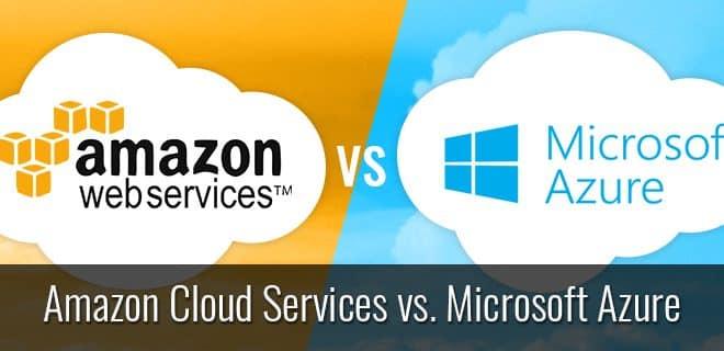 amazon aws versus microsoft azure comparaison cloud