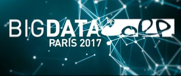 big data paris 2017 une