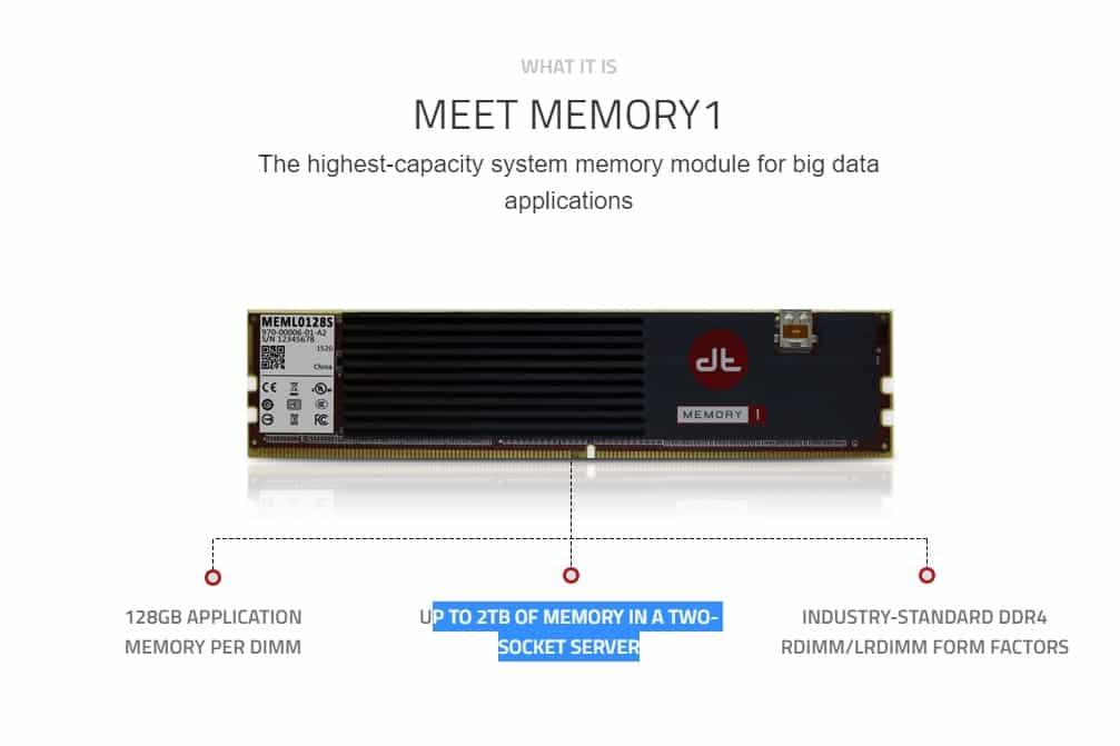 memory1 big data
