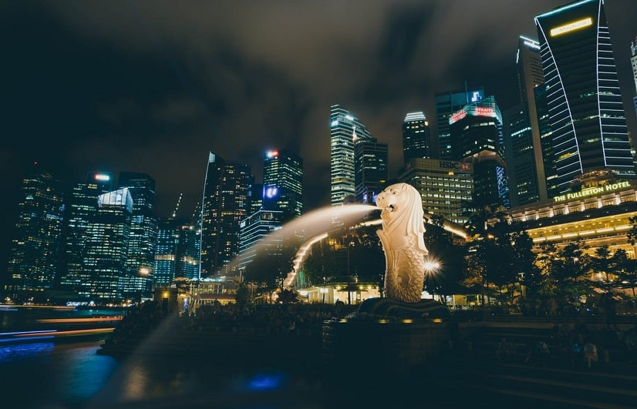 eau singapour
