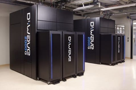 dwave ordinateur quantique big data