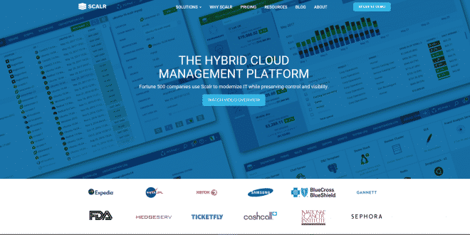 scalr plateforme gestion cloud
