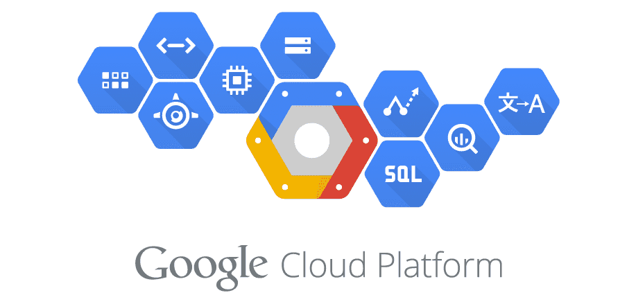 google cloud platform symbole