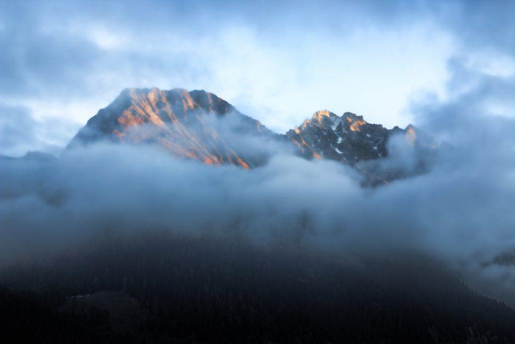 marche du cloud montagne