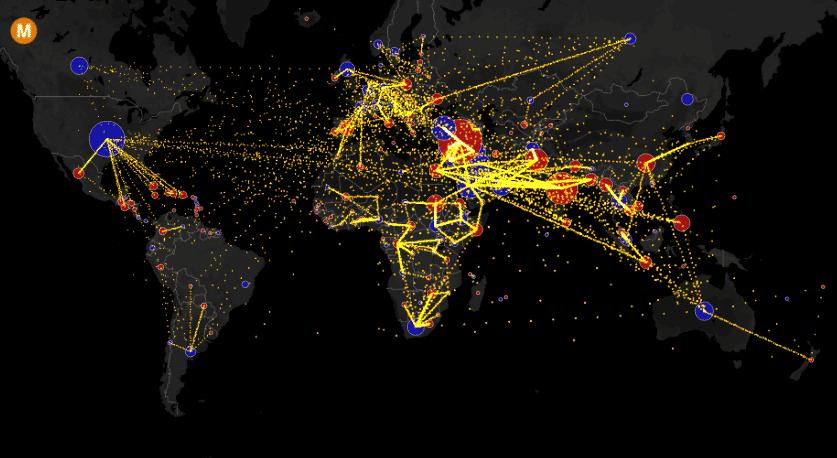 flux migratoirs données