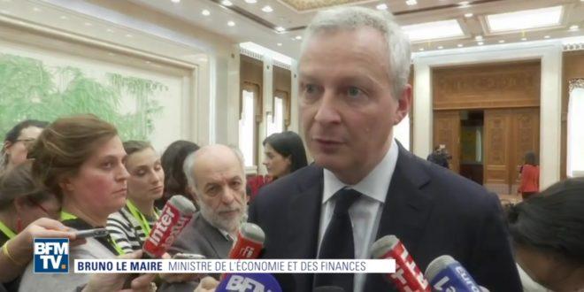 gouvernement macron protéger big data français investisseurs étrangers