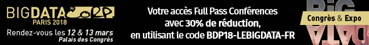 Réduction Code Promo Big Data Paris