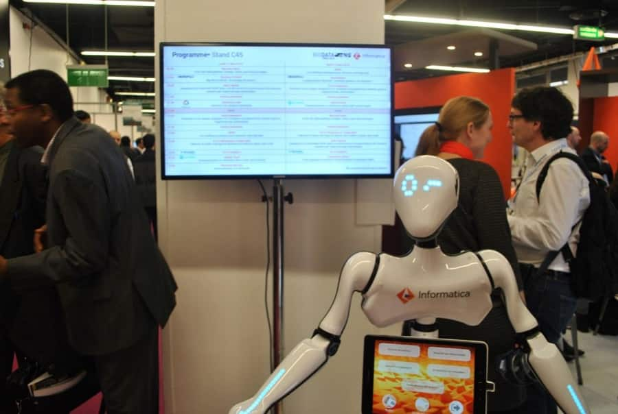 big data paris 2018 robot