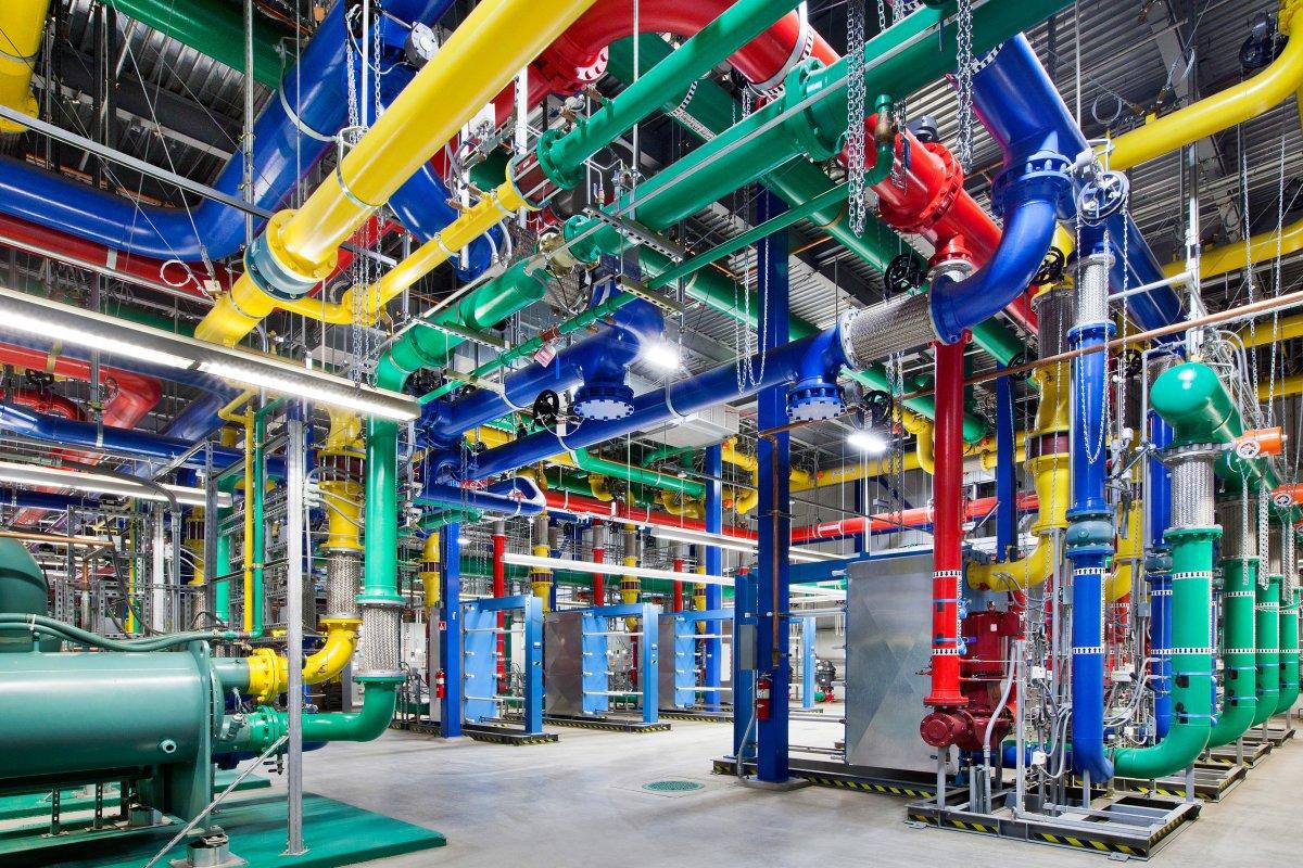 google data center stocke données