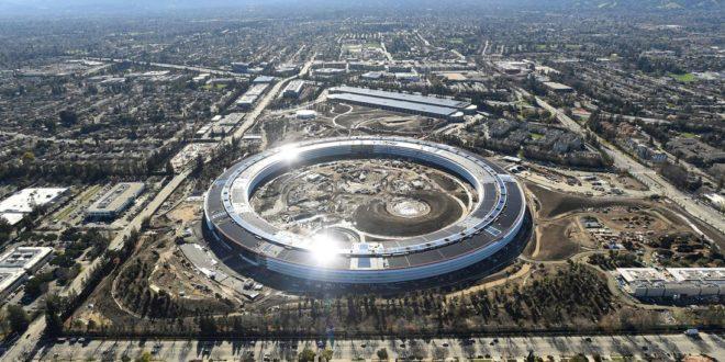 apple énergie renouvelable 100% monde entier