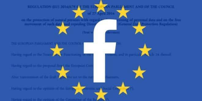 gdpr facebook