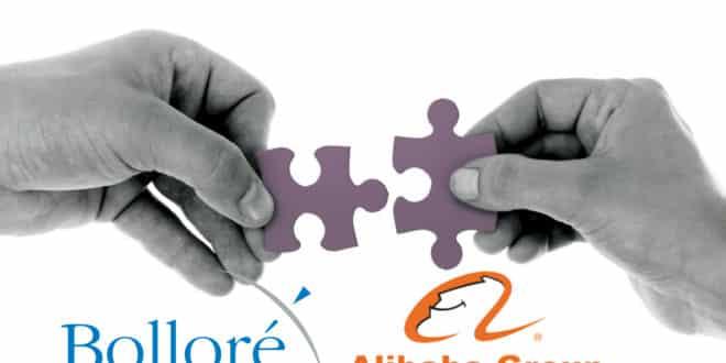 alibaba bolloré partenariat