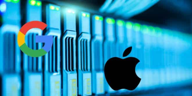 apple google révéler données