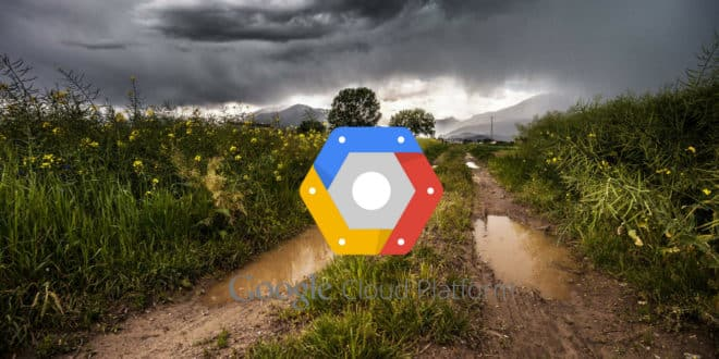 google cloud platform panne