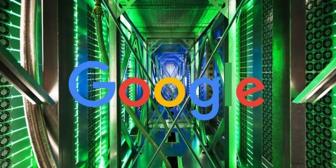 google data center ia