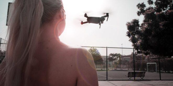 google cloud ia drone surveillance