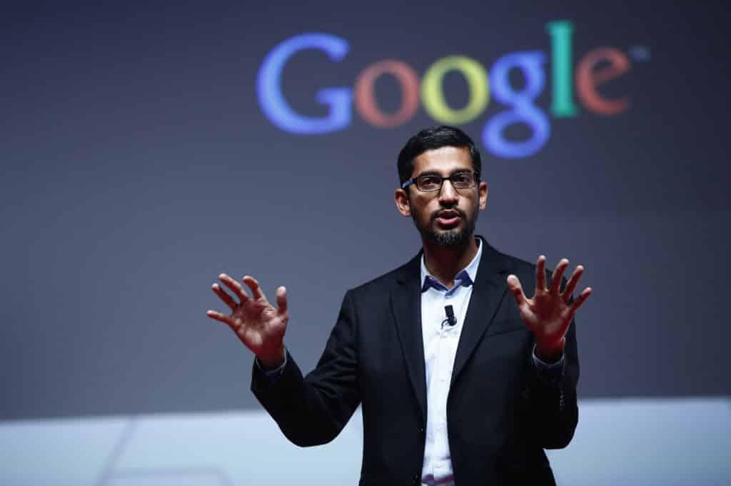 sundar pichai google erreurs