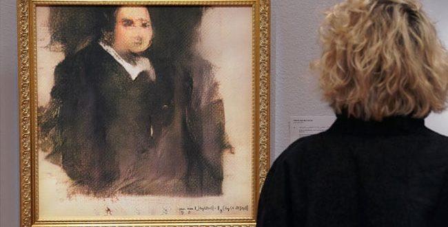 intelligence artificielle ia edmond de belamy portrait