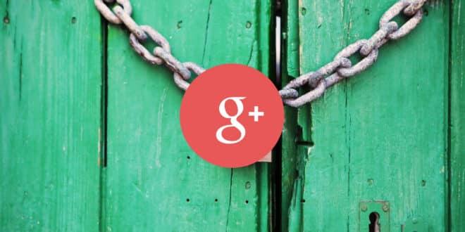 google+ fermeture fuite données