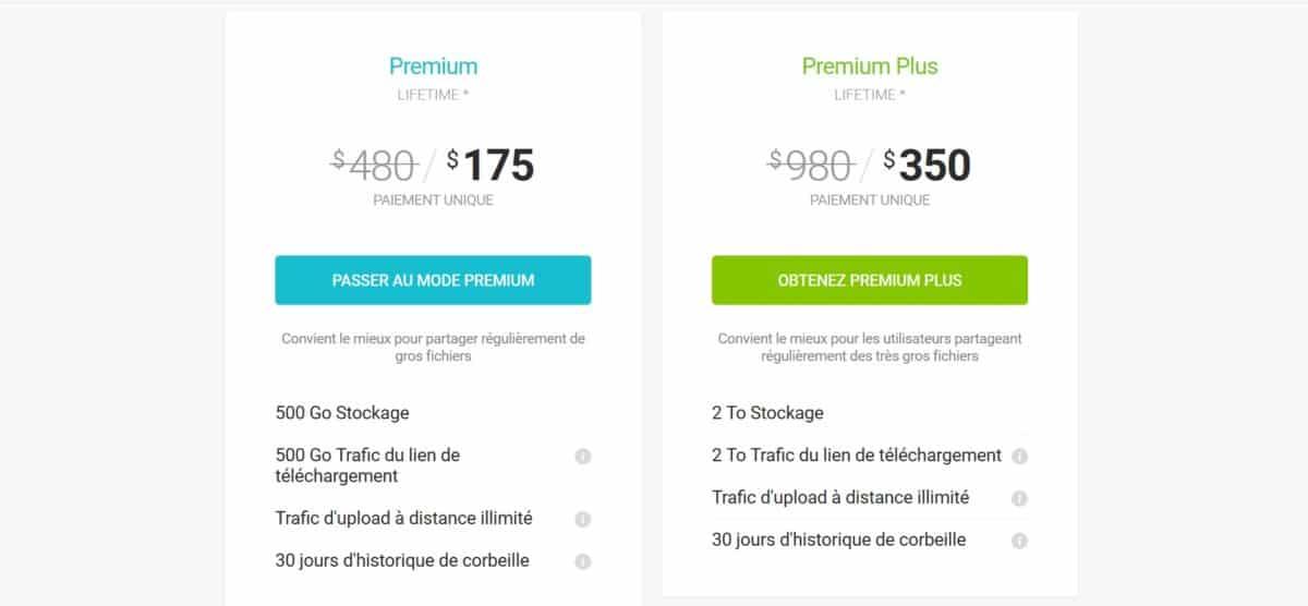 pcloud prix