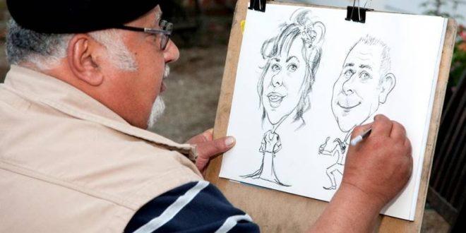 caricature microsoft ia