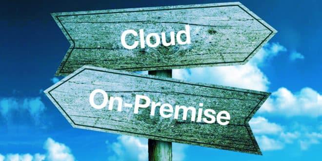 cloud public vs sur site