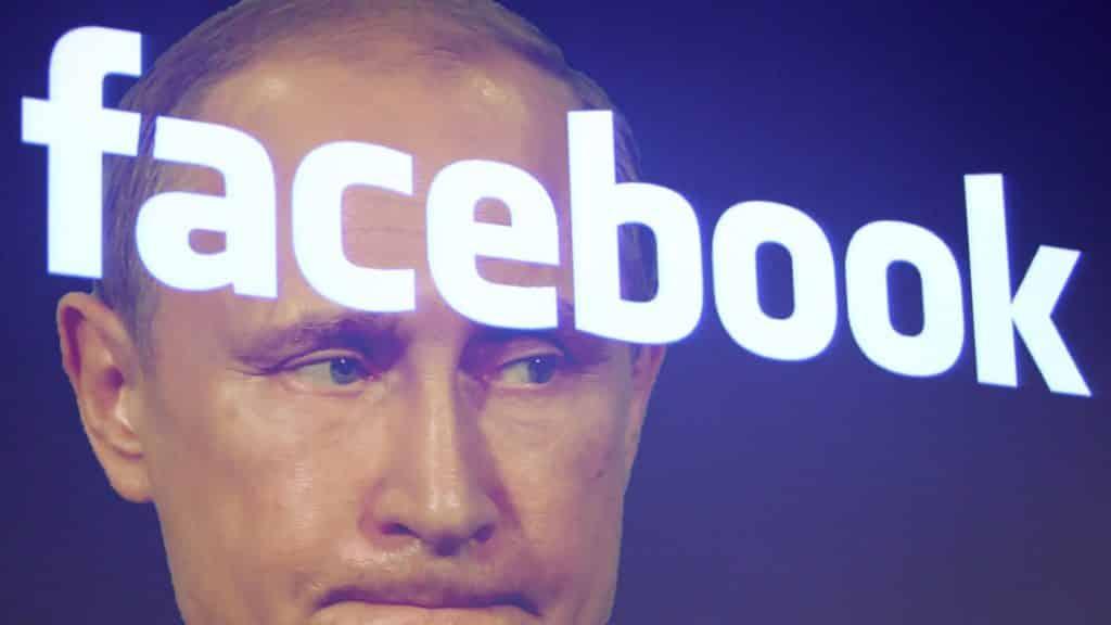 facebook russie