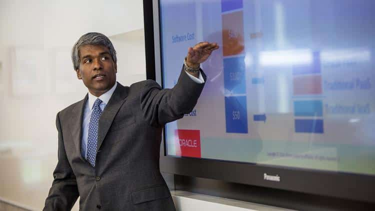 thomas kurian google cloud