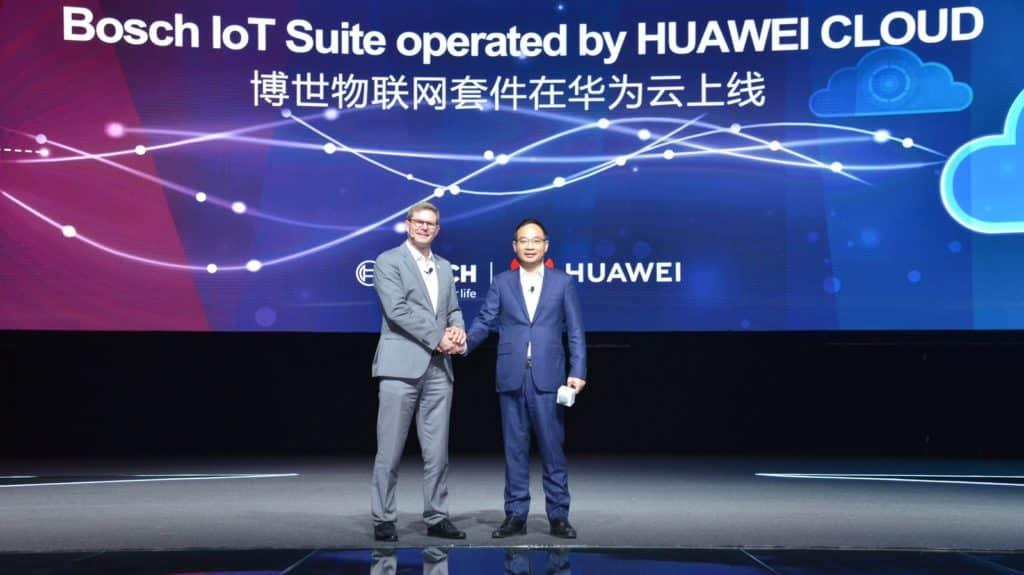 huawei cloud partenariats