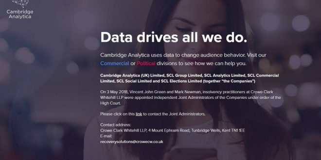 cambridge analytica condamnation