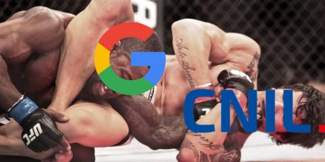 cnil google rgpd amende record données