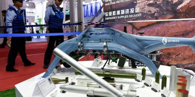 robot tueurs blowfish a2 drones chine