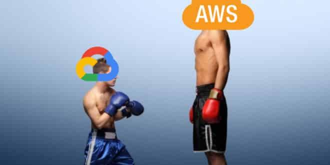 google cloud clients aws