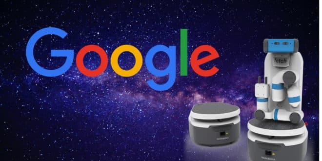 google robotique machine learning