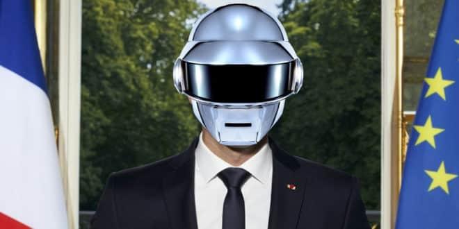 intelligence artificielle macron