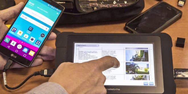 iphone cellebrite ebay données