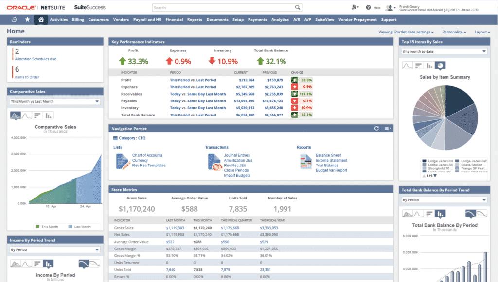 NetSuite : tout savoir sur la suite logicielle ERP Cloud d'Oracle
