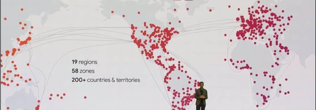 google cloud infrastructure