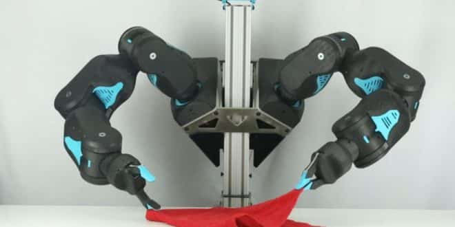 blue robot ia low cost corvées