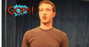 facebook données involontaire