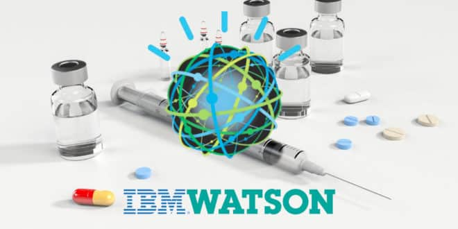 ibm watson industrie pharmaceutique