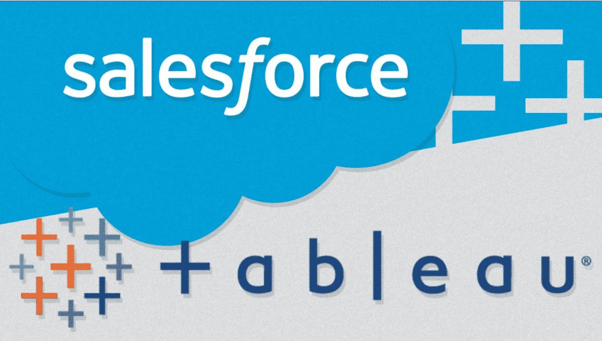Salesforce annonce l'acquisition de Tableau pour 15,7 milliards de dollars, afin d'ajouter les outils de Data Visualization à sa solution CRM.