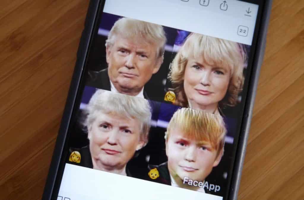 faceapp piège russe