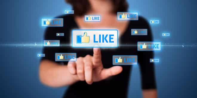 facebook like ue données